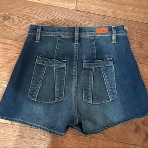 Nasty gal dittos high waisted shorts size 24